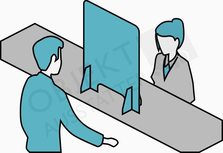 Plexiglas Schutzwand